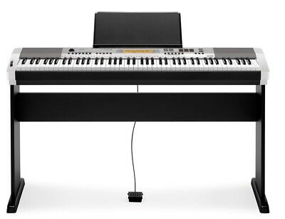 Casio CDP230SR 88 note portable piano kit - silver (CDP-230SR KIT)