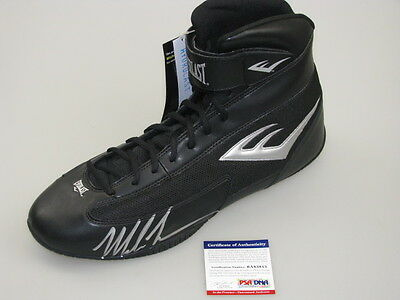 MIKE TYSON Hand Signed Boxing Boot + PSA DNA COA