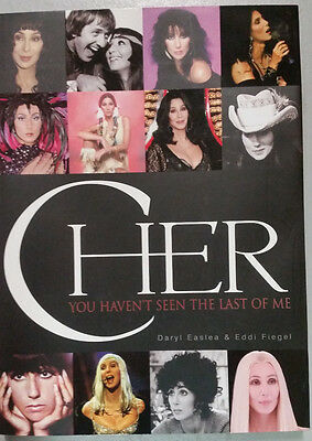 *RARE* Cher:You Haven't Seen the Last of Me HARDCOVER BOOK COLLECTOR'S Edition