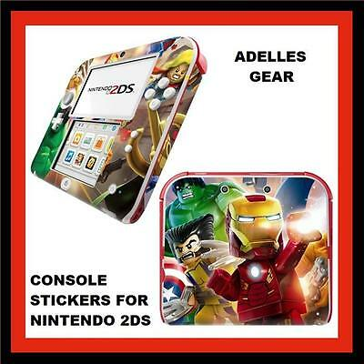 For Nintendo 2Ds Console  Case Stickers Or Skins Ironman Design
