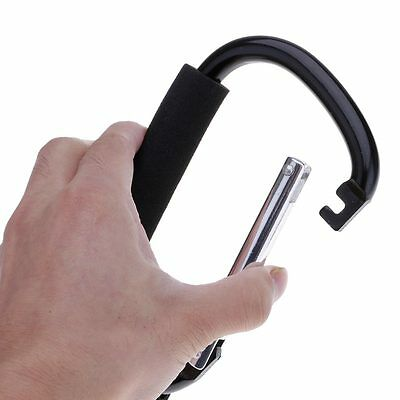 Baby Pushchair Stroller Buggy Pram Carts Clip Hook Hanging Bags Carabiner Holder