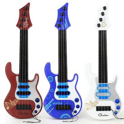 Kids 4 String Acoustic Guitar Education Simulation Music Toy Gift