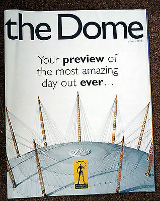MILLENIUM DOME Pre-opening booklet