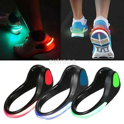 LED Light Flashing Arm / Shoe Clip Cycling Walking Running Outdoor Sports Safety