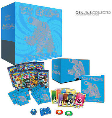 125-card XY Evolutions Blastoise-Art Elite Trainer Box Pokemon | 8 Boosters Pack