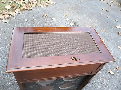 Hammond Jr-20 Tone Cabinet Top W/ Grill Cover/screen, Top Only, Cherry 1957