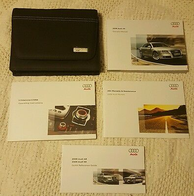 2009 Audi A8 Owners Manual