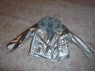 """KATE MACK Silver Stunning Jacket age 4 """"IMMACULATE"""""""