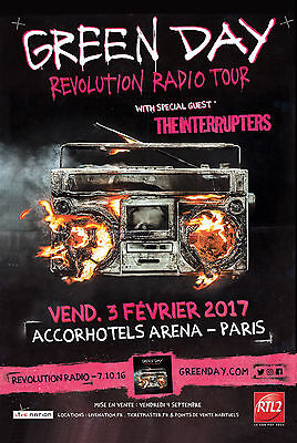 2 places concert Green Day 03/02/2017 CAT1