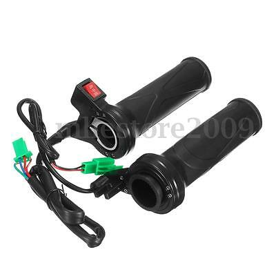Motorcycle Heated Grips 12v 22mm 7/8'' Adjustable Hot Motorbike Scooter ATV warm