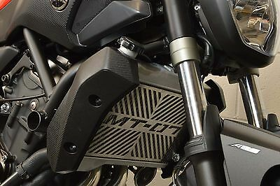 Yamaha MT-07 SP Engineering Brushed Stainless Radiator Cover Guard