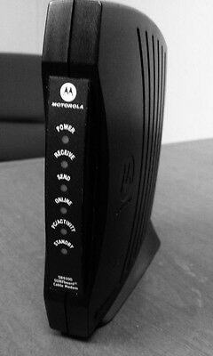 MOTOROLA SB5101N SURFBOARD CABLE MODEM w PS and instructions   V-11