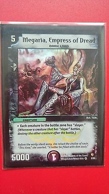 Megaria, Empress Of Dread - Duel Masters Trading Card
