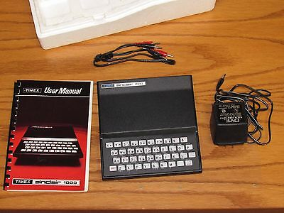 Vintage 1980s Timex Sinclair 1000 Personal Computer, In Box-Untested Model 331