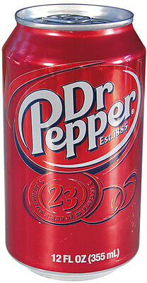 Diversion Safe-DR PEPPER SODA CAN With Hidden Interior Compartment For Valuables