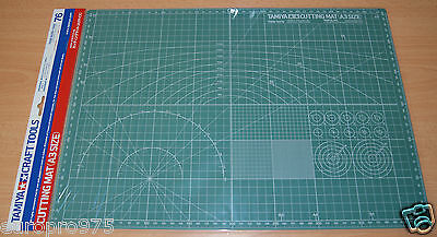 Tamiya 74076 Cutting Mat (A3 Size) for RC & Plastic Kits, NIP