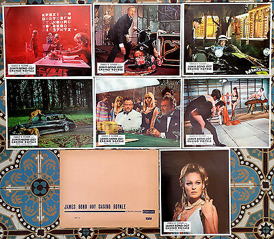 1967 CASINO ROYALE David Niven Ursula Andress James Bond stills lobby cards set