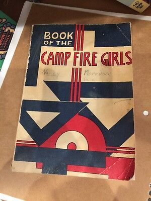 'Book of the Camp Fire Girls' 1958 256 Pages
