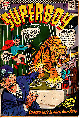 DC Comics! Superboy #130! Great Looking Book!