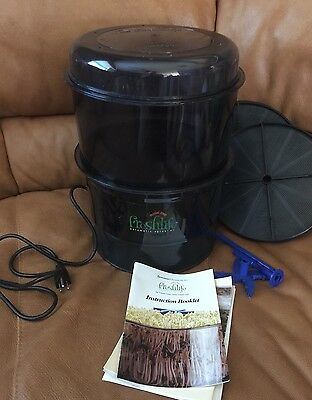Tribest FreshLife FL-2000 Automatic Sprouter Sprouting System Organic Sprouts