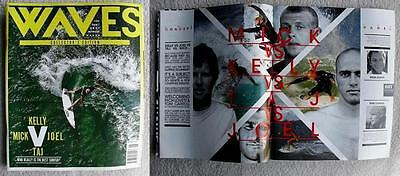 Mick Fanning Kelly Slater Surf  Waves Surfing Collectors Edition Magazine Beach