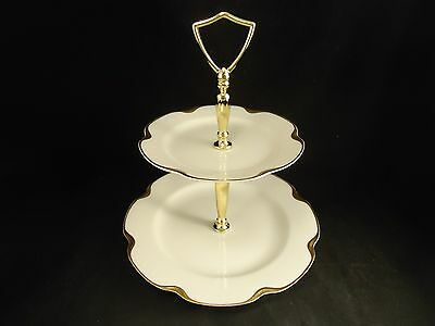 SILVER ANNIVERSARY 2 Tier CANDY or MINT Tray Haviland Perfect #19 Limoges France