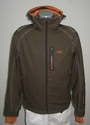 Kjus Dermizax Mens Ski Jacket Size S 48 Waterpoof Removable Hood Immaculate cond