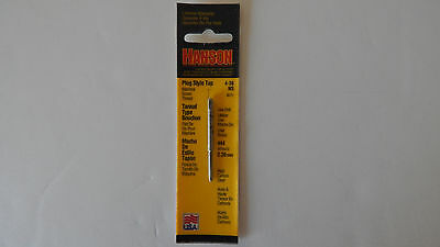Hanson 4-36 NS Plug Type Carbon Steel New Old Stock (MADE IN USA)