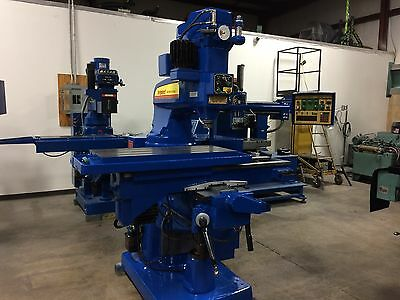 CNC BRIDGEPORT SERIES ll VERTICAL MILL AND MILLING MACHINE