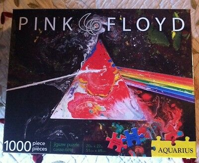 Pink Floyd Drk Side Of The Moon Anniversary Puzzle 1000 Pieces Aquarius