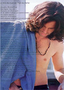 JIM MORRISON ~ EPITAPH 22x34 MUSIC POSTER Doors NEW/ROLLED!
