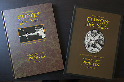 Conan Red Nails Artist Edition Genesis West Barry Smith