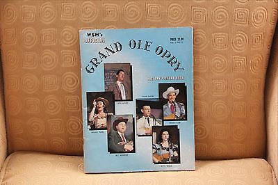 Grand Ole Opry Official Program 1957