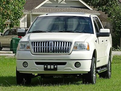 2007 Lincoln Mark Series Base Crew Cab Pickup 4-Door 07 LINCOLN MARK LT 4X4 CREW CAB 1 OWNER ACCIDENT FREE TX TRUCK CARFAX CERTIFIED!