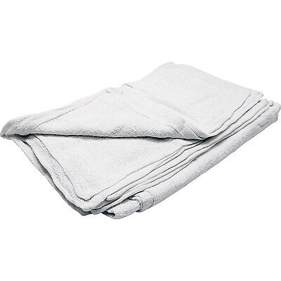 ALLSTAR PERFORMANCE ALL12012 Terry Towels White 12pk