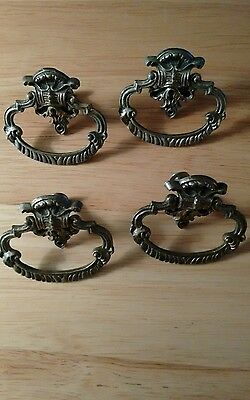 old bail drawer pulls