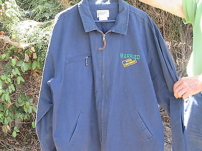 MARRIED WITH CHILDREN Vintage ROOTS TV Crew Jacket CHRISTINA APPLEGATE