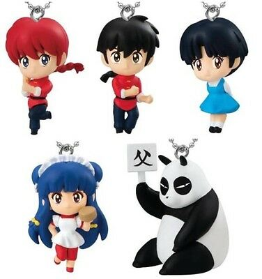 Bandai RANMA1/2 RumikoTakahasi 5 Mini Chain Figures Rumic JAPAN Anime SHIP FREE