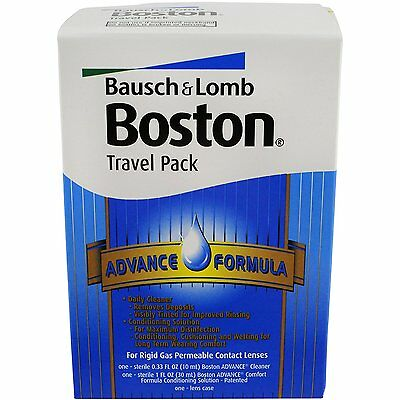 Boston Advance Comfort Formula Travel Pack, for (gas permeable) lens care