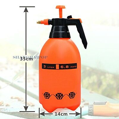 Pressure Watering Spray Bottle Pump Plant Hand Held Sprayer House Garden 3 Litre
