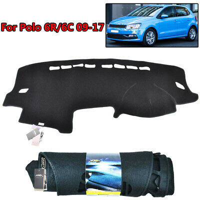 Xukey Fit For 09-16 VW Polo MK5 6R Dashboard Cover Dashmat Dash Mat Pad