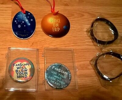 Original FARSCAPE Patch set  Comm Set and other convention items