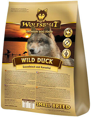 Wolfsblut Wild Duck Small Breed 2 kg Hundefutter