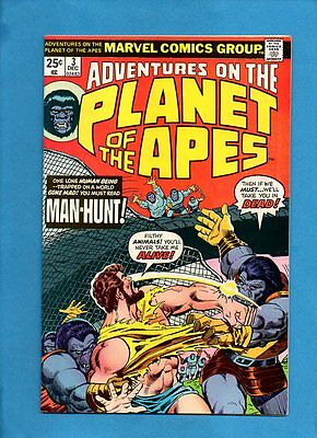 Adventures on the Planet of the Apes #3 Marvel Comisc December 1975 VF/NM