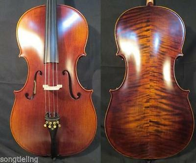 Strad style SONG Brand Maestro 3/4 cello ,huge and powerful sound #10046
