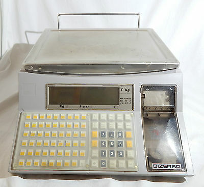 Bizerba Basic System Scale Bs100 Balance With Integrated Printer 2 Mb Ram Used
