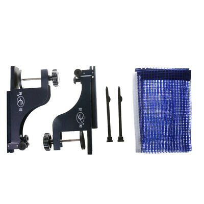 Table Tennis Clamp Post Stand with Table Tennis Net Set