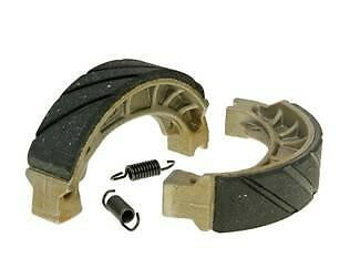 brake shoe set grooved with springs 110x25mm Non-asbestos + moisture treatment