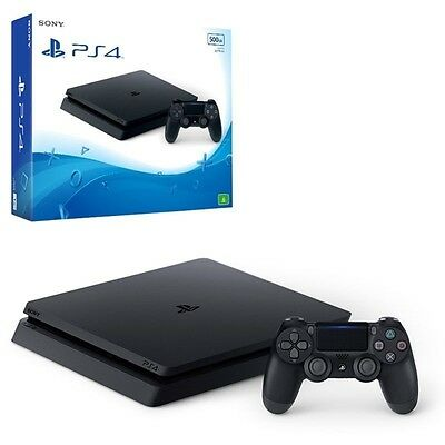 PS4 Slim 500GB Console + 2 GAMES - ** BRAND NEW + FREE SHIPPING **