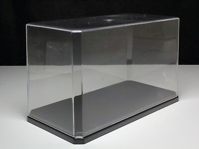 "DISPLAY CASE CLEAR ACRYLIC COLLECTION BOX 6.65""x3.35""x3.94"" MADE IN JAPAN"